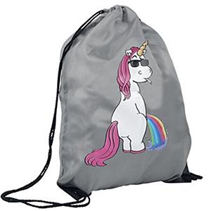 Tener una bolsa puede resultar muy útil, y ya que te compras una, qué mejor que con un unicornio estampado ¿no?.