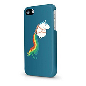 No salgas de casa sin tener tu móvil protegido con una buena carcasa, y si es con unicornio dibujado en ello, mejor que mejor ¿no?