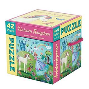 Rómpete la cabeza armando uno de estos puzzles de unicornios. Cuando lo termines, te encantará el resultado.
