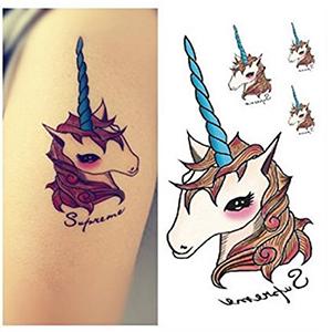Si hay algo que define tu personalidad y tu buen gusto, es un tattoo de unicornio. Escoge el que más te guste y grábatelo en la piel.